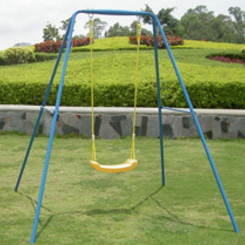 Single swing set