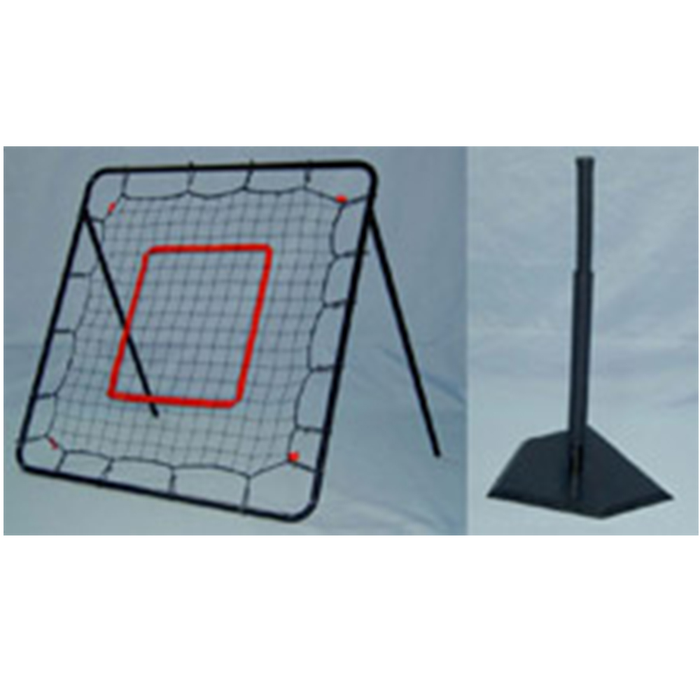 Pitch Back and Batting Tee