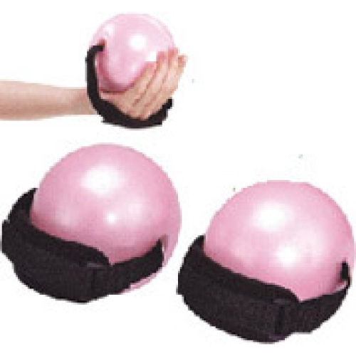 Soft weighted ball with strap