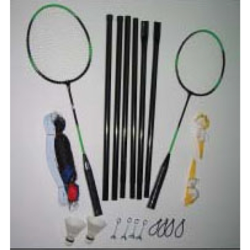 2-player badminton set