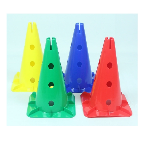 Cone set with holes